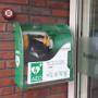 AED bij de ingang MFA